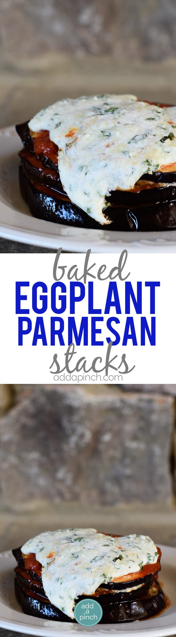 eggplant parmesan and utilizing the recipe