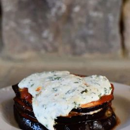 Baked Eggplant Parmesan Stacks Recipe - These Baked Eggplant Parmesan Stacks make a mighty delicious main dish that everyone will love! This quick and easy dish comes together in less than 30 minutes! // addapinch.com