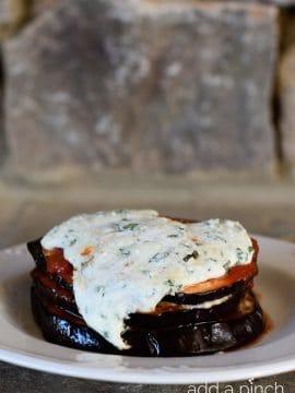 Baked Eggplant Parmesan Stacks Recipe