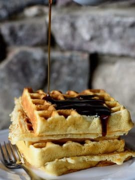 Our Favorite Buttermilk Waffles Recipe