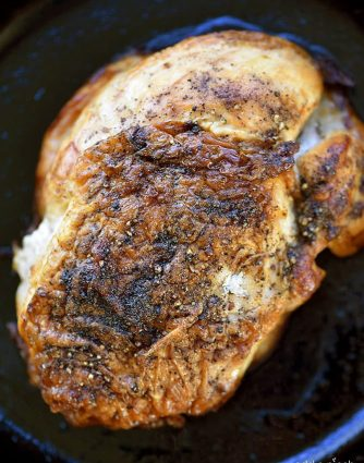 Roasted Turkey Breast Recipe - Making a Roasted Turkey Breast recipe is simpler and takes less time than roasting an entire turkey! Perfect for serving smaller groups for the holidays or even on a weekend! // addapinch.com