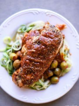 Skillet Mediterranean Chicken Recipe