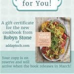Add a Pinch Cookbook Gift Certificate // Printable