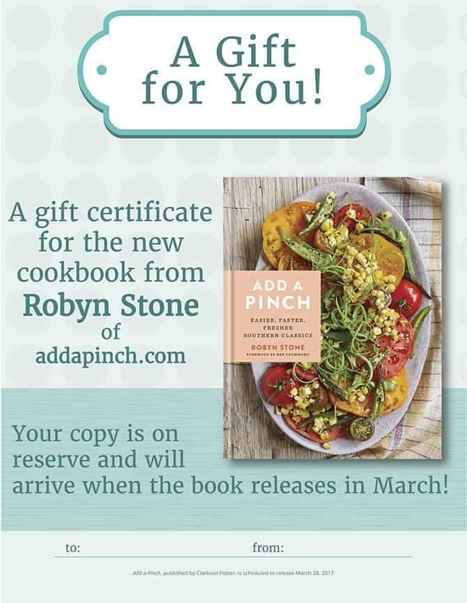 photograph regarding Printable Cookbook known as Incorporate a Pinch Cookbook Reward Certification // Printable - Include a Pinch