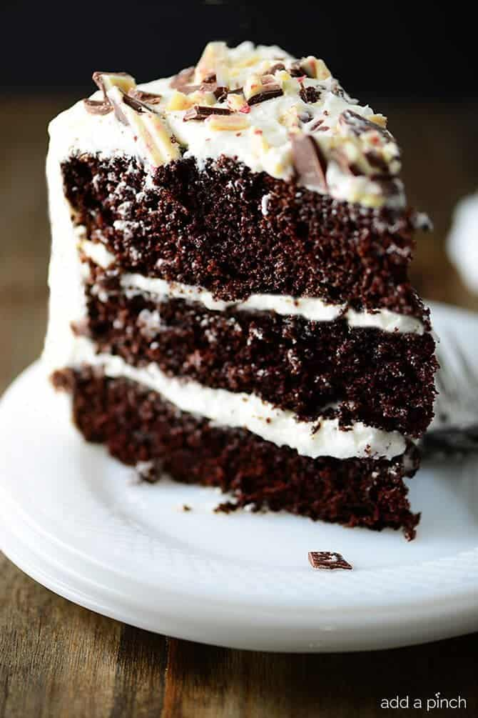 Peppermint Chocolate Cake Recipe – Chocolate Cake has to be an all ...