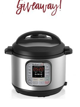 Instant Pot Giveaway Winners!