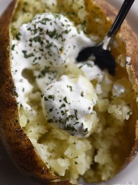 Perfect Baked Potato Recipe