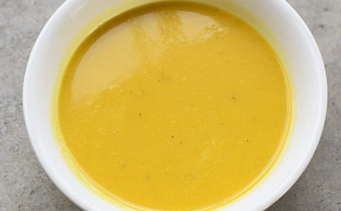Coconut Curry Butternut Squash Soup Recipe - Coconut Curry Butternut Squash Soup makes a creamy, delicious soup recipe. Dairy-free, gluten-free, but certainly not flavor-free! // addapinch.com