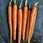 Garlic Roasted Carrots Recipe