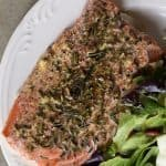 Lemon Garlic Butter Salmon Recipe