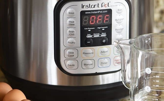 This Instant Pot Eggs Recipe makes perfectly cooked and easy to peel eggs every time! Quick, easy and fail proof recipe for soft and hard boiled eggs every time.// addapinch.com