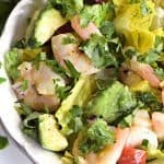 Cilantro Lime Shrimp Avocado Salad Recipe