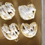 Heart-Shaped Cinnamon Roll Biscuits Recipe