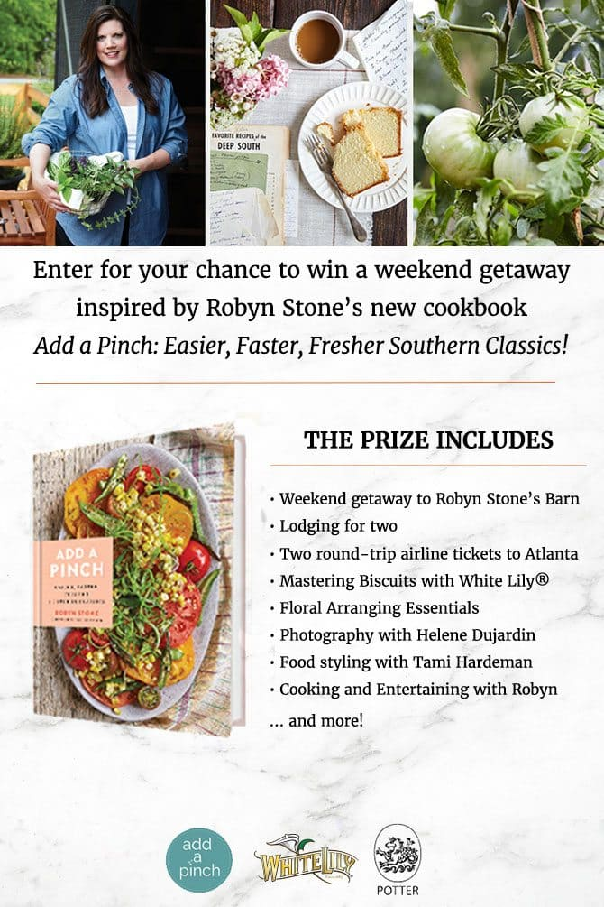 Add a Pinch Weekend at the Barn Giveaway! // addapinch.com