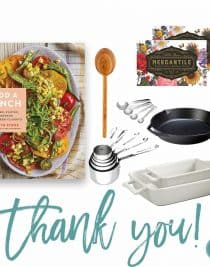 Add a Pinch Cookbook + Kitchen Fun Giveaway! // addapinch.com