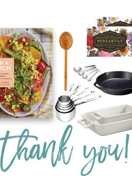 Add a Pinch Cookbook + Go-To Kitchen Tools Giveaway Winners!