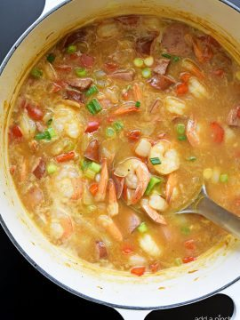 Easy Shrimp and Sausage Gumbo Recipe