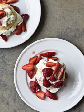 Strawberry Shortcakes with Sweet Cream Cheese Biscuits Recipe