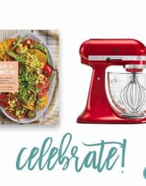 Add a Pinch Cookbook + Kitchenaid Mixer Celebrate Giveaway! // addapinch.com