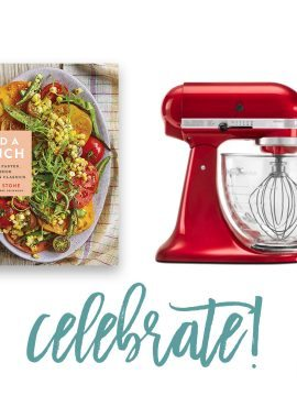 Add a Pinch Cookbook Let's Celebrate Giveaway Winner!