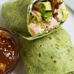 Sweet and Spicy Chicken Wraps Recipe