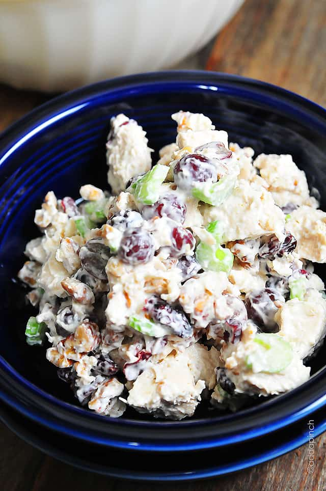 Chicken Salad With Grapes Recipe Cooking Add A Pinch
