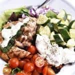Grilled Chicken Salad with Pesto Ranch Dressing Recipe
