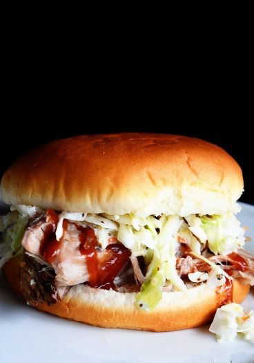 The Best Pulled Pork Recipe - This easy pulled pork recipe lets your slow cooker do all the work while making the best pulled pork! Easy, delicious, and the only pulled pork recipe you'll ever need!// addapinch.com