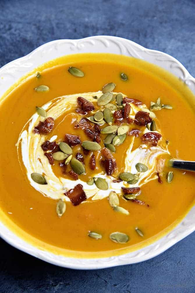 Creamy Pumpkin Soup Recipe Add A Pinch