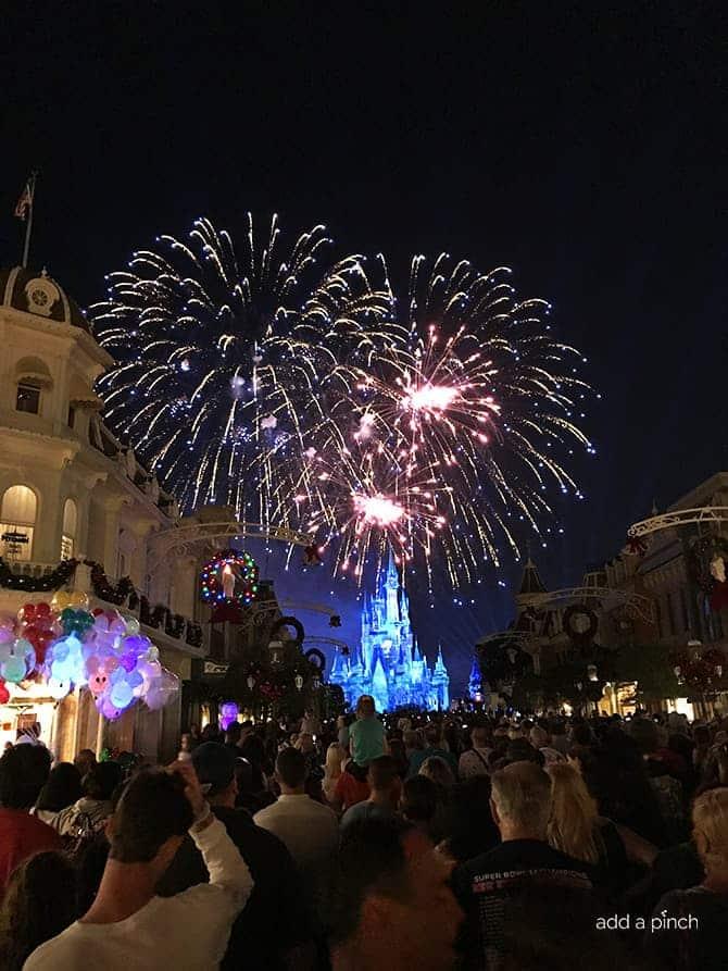 Disney Fireworks Show 2017 // addapinch.com