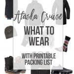 Alaska Cruise: What to Wear on Your Alaskan Cruise