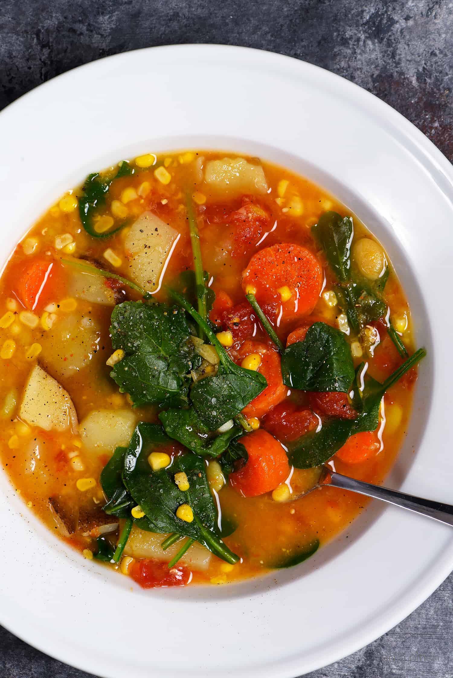 Lentil Vegetable Soup Recipe Add A Pinch
