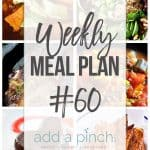 Weekly Meal Plan #60