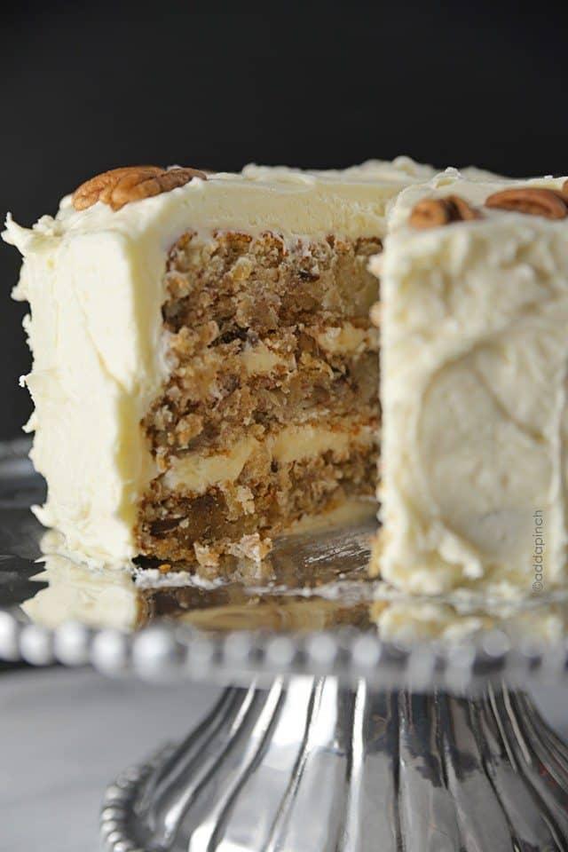 Just A Pinch Hummingbird Cake