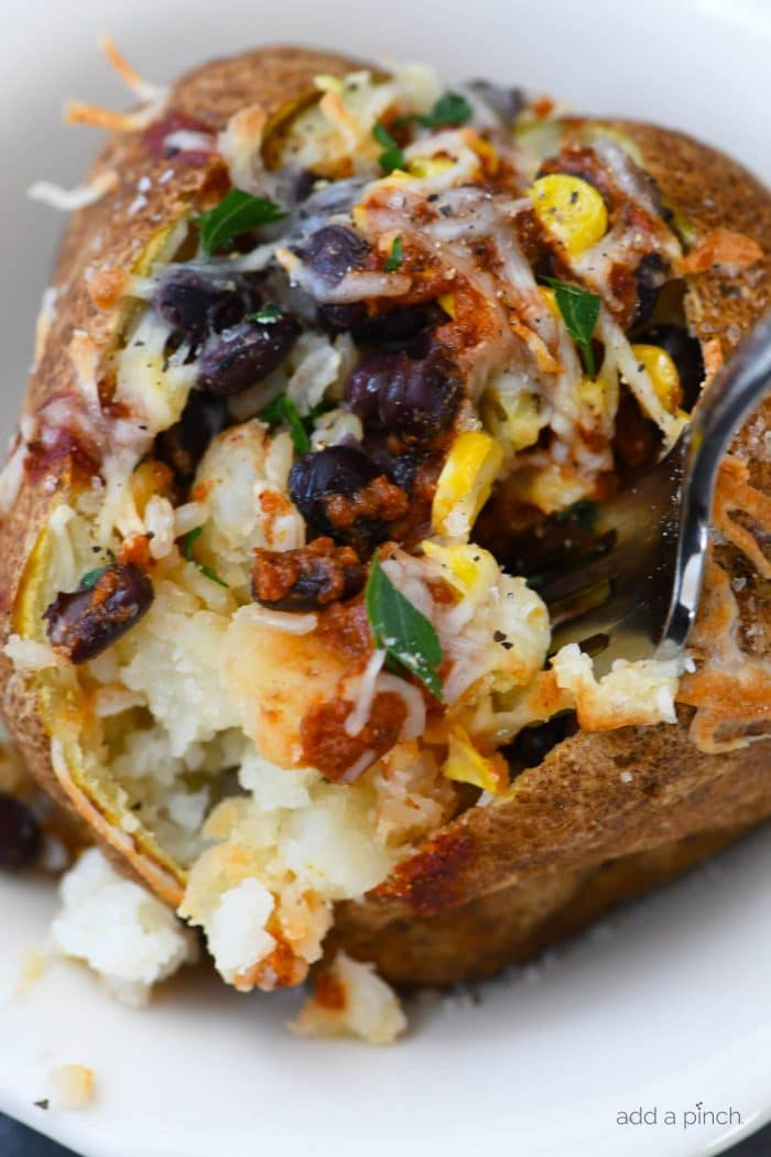 how to make a quick baked potato