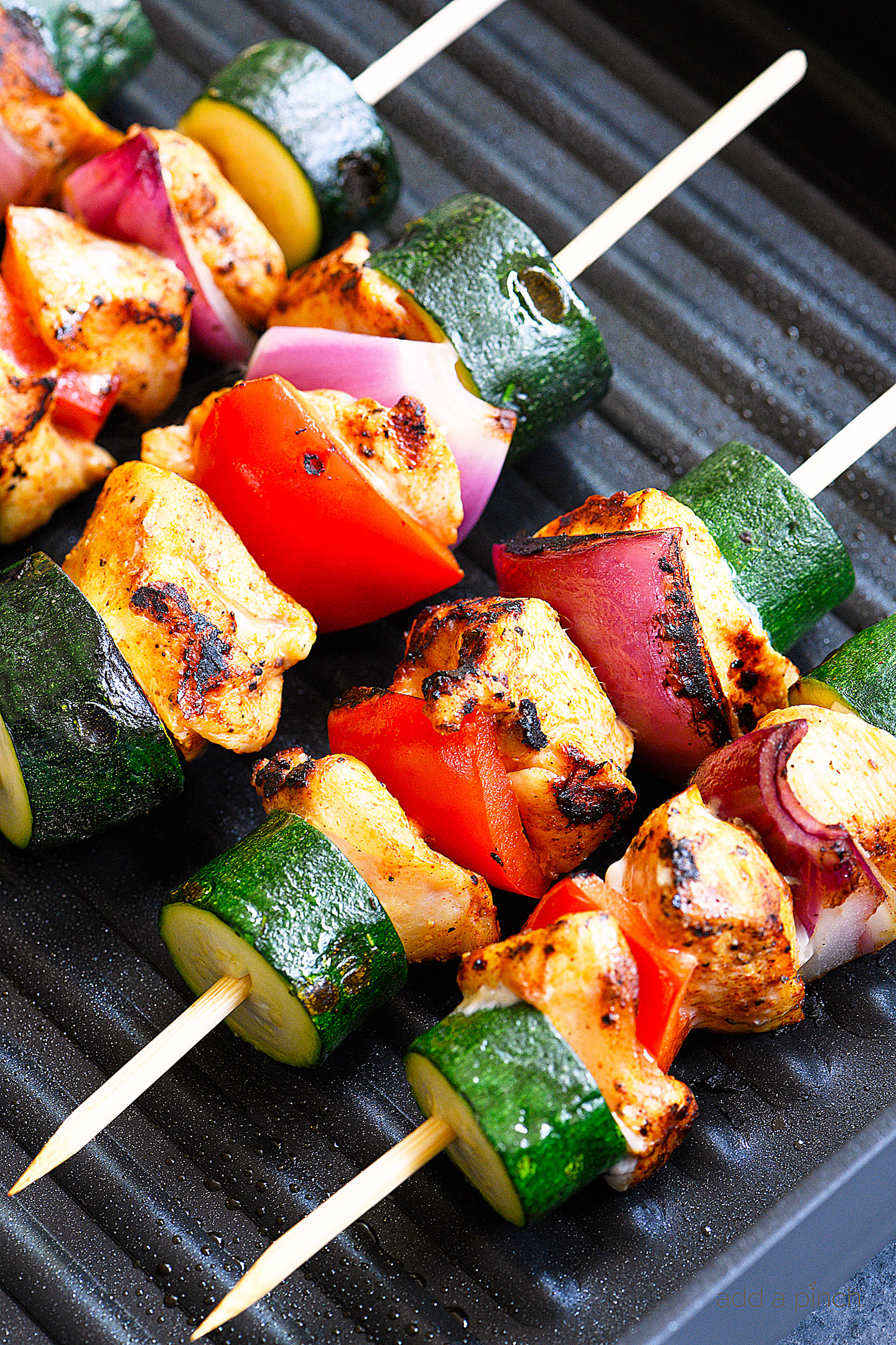 Chili Rubbed Chicken Skewers Recipe Add A Pinch