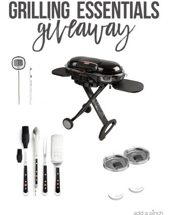 Grilling Essentials Giveaway // addapinch.com