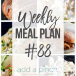 Weekly Meal Plan #88