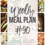 Weekly Meal Plan #90