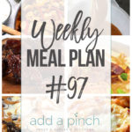 Weekly Meal Plan #97