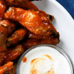 Baked Crispy Buffalo Chicken Wings Recipe