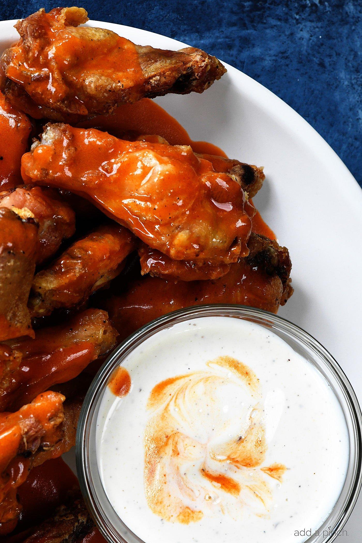 Baked Crispy Buffalo Chicken Wings Recipe Add A Pinch