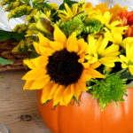 Simple Fall Floral Arrangements