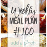Weekly Meal Plan #100