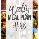 Weekly Meal Plan #98