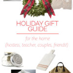 Holiday Gift Guide: for the Home