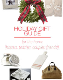 Holiday Gift Guide for the Home – Our 2018 holiday gift guide includes the best gift ideas for the home! This is perfect gift guide for couples, hostess gifts, friends, and more! // addapinch.com