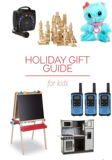 Holiday Gift Guide for Kids – Our 2018 holiday gift guide includes the best gift ideas for the children in your life! Filled with fun toys, snuggly blankets, furniture just for them and so much more!// addapinch.com