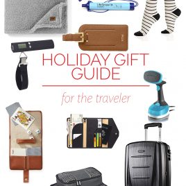 Holiday Gift Guide for the Traveler – Our 2018 holiday gift guide includes the best gift ideas for the traveler! Filled with practical presents they'll absolute love! // addapinch.com