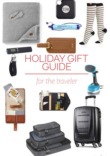 Holiday Gift Guide for the Traveler – Our 2018 holiday gift guide includes the best gift ideas for the traveler! Filled with practical presents they'll absolute love!// addapinch.com